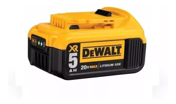 Bateria Dewalt Dcb205 Premium 20v Ion Litio 5 Ah Amp - Rex