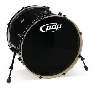 Pdp Pdcm1822kkpb Bombo Maple Bass Drum 22x18