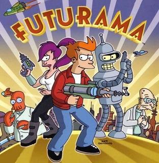 Dvd Desenho Futurama 1° Ao 5° Temporada Dublada