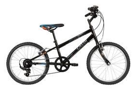 Bicicleta Infantil Aro 20 Caloi Hot Wheels - Preta