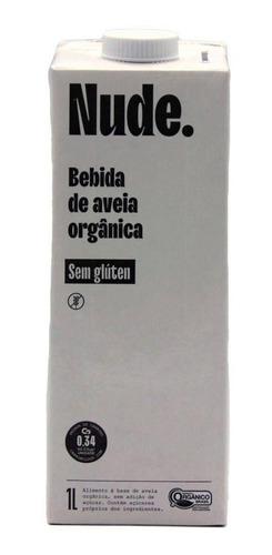 Imagem 1 de 6 de Bebida De Aveia Organico Sem Gluten Nude 1l