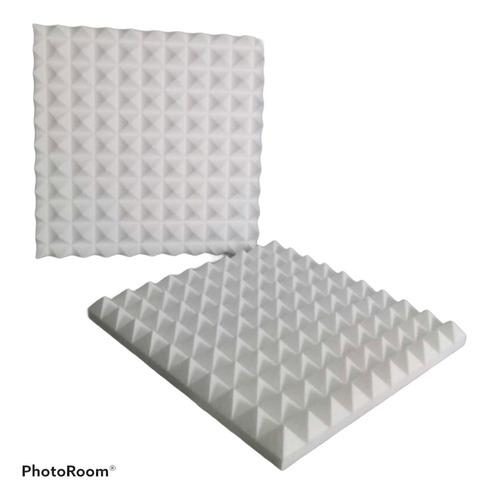 Termo Acustico Aislante Panel Piramidal 45x45x5cm Foto Real