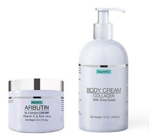 Crema Blanqueadora Con Arbutina + Body Cream By Lawrens