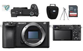 Sony Alpha A6500 Corpo + Bolsa + Tripé + 64gb Classe 10