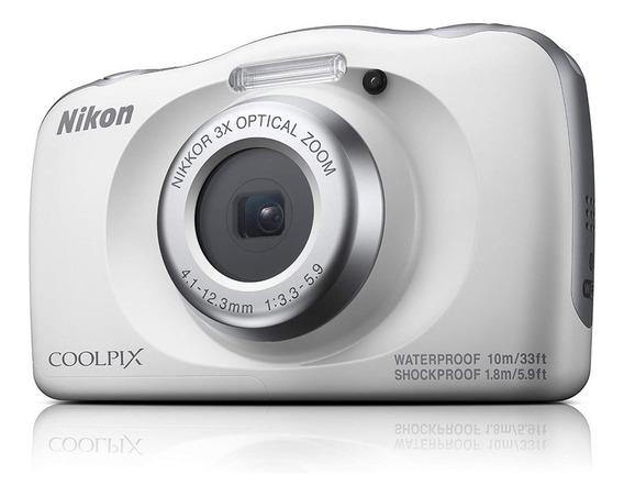 Camera Nikon Coolpix W150 Branca