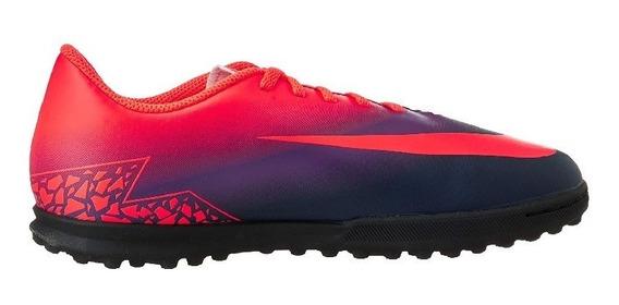 Zapatillas Nike Fútbol Hypervenom Tf Niños - New
