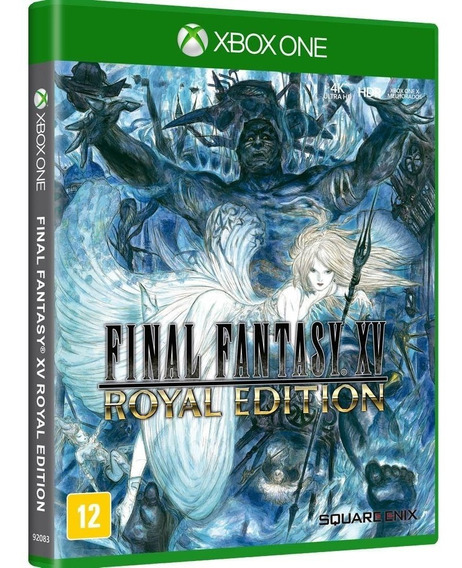 Final Fantasy Xv Royal Edition - Xbox One - Novo - M Fisica