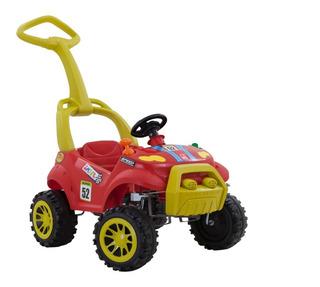 Carrinho Smart Passeio Com Pedal - Vermelho Bandeirante 461
