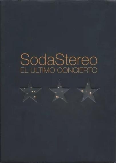 Dvd Soda Stereo El Ultimo Concierto Zona Norte