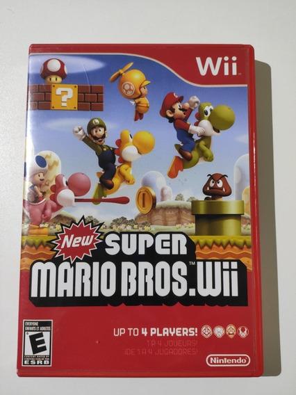 New Super Mario Bros Wii Midia Fisica