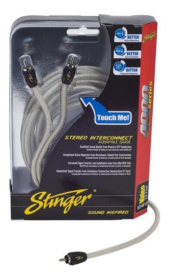 Cable Rca Stinger Si486 Para Video Serie 4000 1.8 Metros