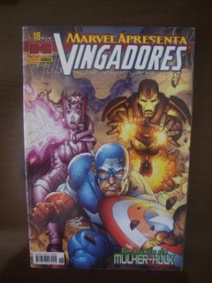 Hq Marvel Apresenta Nº 18 - Em Busca Da Mulher-hulk