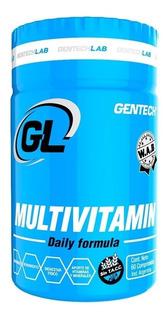 Gentech Multivitamin 60 Tabs Vitaminas + Minerales Sin Tacc