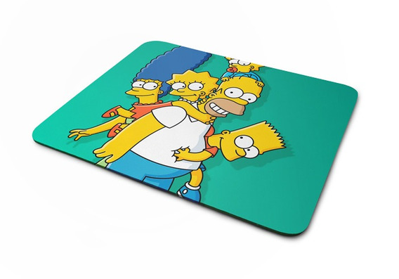 Mousepad Simpsons Green Artgeek