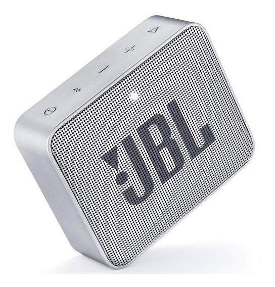 Caixa Bluetooth Jbl Go2 Preta Com Potência De 3 W - Jbl Go 2