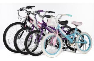 Bicicleta Rodado 20 De Nena No Envios