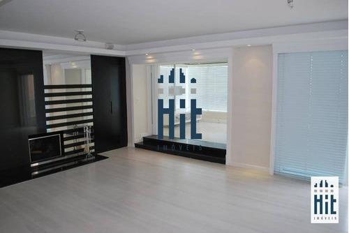 Apartamento Com 4 Dormitórios, 3 Suítes À Venda, 248 M² Por R$ 1.900.000 - Aclimação - São Paulo/sp - Ap3831