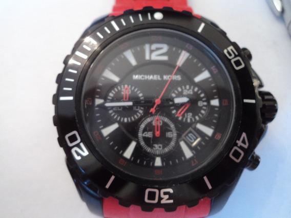 Relógio Grande Michael Kors Original Masculino Novo