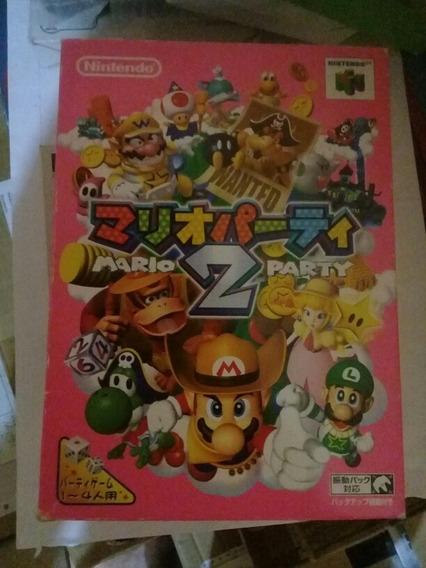 Jogo Mario Party 2 Nintendo 64