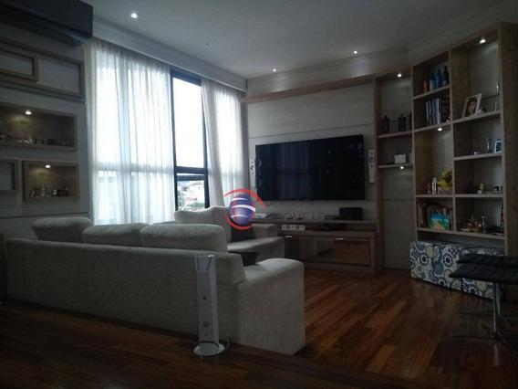 Apartamento Á Venda, Vila Valparaíso Em Santo André -ap4340. - Ap4340