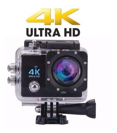 Camera Wi-fi Sport 4k 1080p + Kit + Brindes