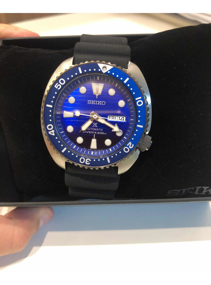 Relógio Seiko Turtle Prospex Save The Ocean Automatic Srpc91