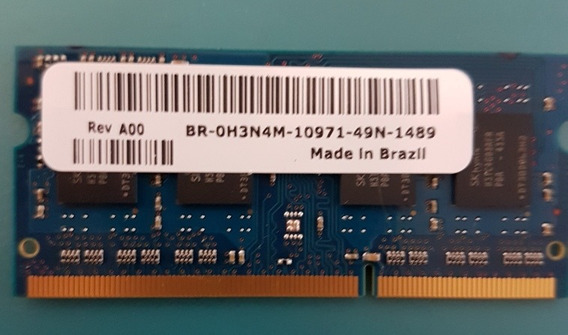 Memória Ram Teikon 4 Gb Ddr3l 1600 Mhz - Dell Inspiron
