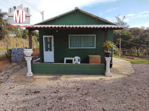 Imagem 1 de 30 de Ótima Chácara Com 1 Dormitório, Galinheiro, Bem Localizado, Acesso Todo Asfaltado, À Venda, 5000 M² Por R$ 350.000 - Rural - Monte Alegre Do Sul/sp - Ch1006