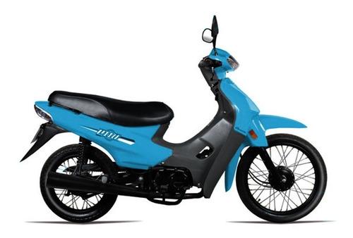 Baccio P110 Moto 0km 2021 Polleritas + Obsequios Fama