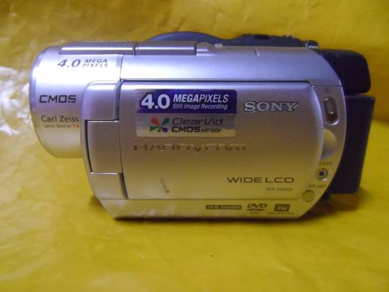 Filmadora Sony Mini Dv Dcr-dvd-408 - Impecavel - U. Dono- Ok