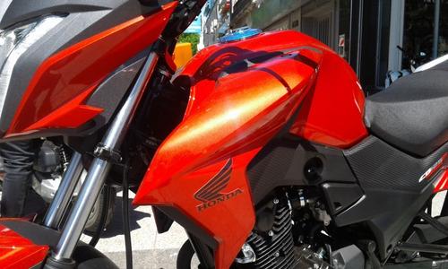 Honda Cb 125 Twister 2021 Okm Financio  12/18 Centro Motos