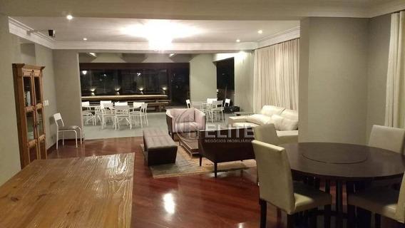 Apartamento Com 4 Dormitórios À Venda, 300 M² - Jardim - Santo André/sp - Ap11274