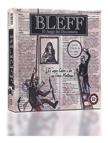 Bleff - El Juego Del Diccionario Version De Tablero Ruibal