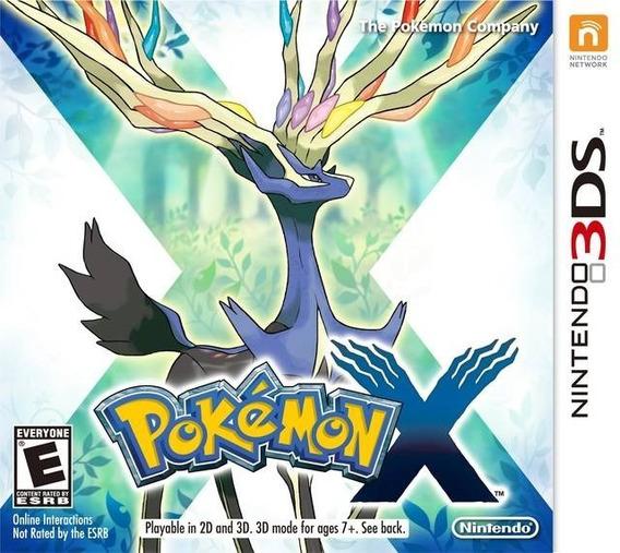 Pokémon X - 3ds ! Semi Novo! M. Física!