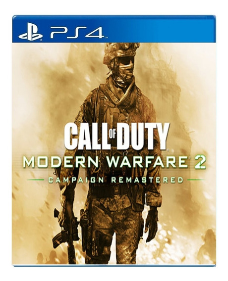 Call Of Duty Modern Warfare 2 Campaign Remastered 1° Psn Ps4