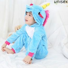 bb6c4487e Pijama Mameluco Unicornio Disfraz Cosplay Kigurumi Niño Niña