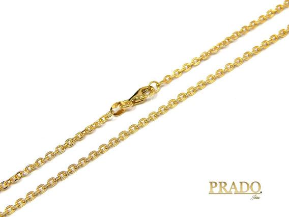 Corrente Masculina Cartier Nacional Ouro 18k Com 60cm