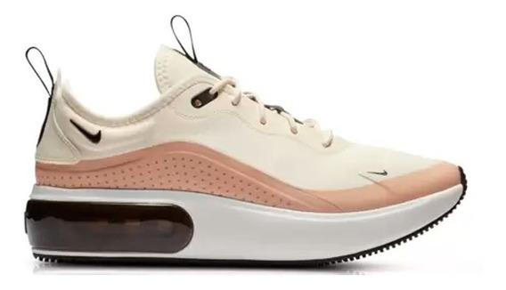 Tenis Zapatillas Nike Air Dia Dama Negro Modelo 2019 Oferta