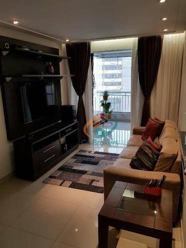 Apartamento Com 3 Dormitórios À Venda, 83 M² Por R$ 550.000,00 - Centro - Guarulhos/sp - Ap2174