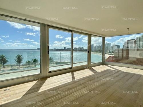Penthouse En Venta Frente Al Mar Pileta Propia Moderno- Ref: 30967
