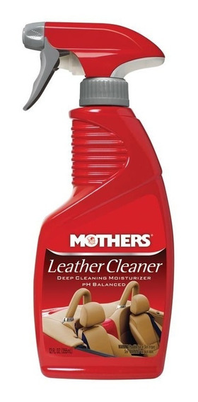 Limpador De Couro Em Spray Mothers Leather Cleaner- 355ml