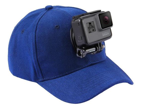 2 Piezas Montaje en Sombrero Quick Clip Baseball Cap Mount para GoPro Hero 5//4//3 // 3//2//1-Negro
