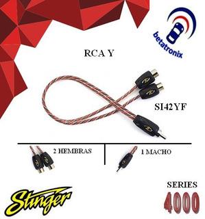 Cable Eléctrico Instalación Rca / 1.82 Metros Stinger