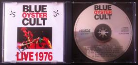 Cd Blue Oyster Cult Live 1976 Frete Grátis Importado