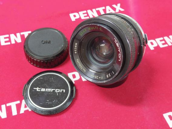 Objetiva Tamron Sp 28mm F2.8 (adaptal2 - Om)