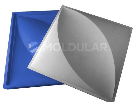 Molde / Forma Para Gesso 3d Em Silicone Modelo Pétala 28x28