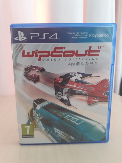 Wipeout Omega Collection Mídia Física - Ps4
