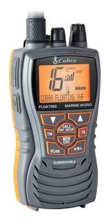 Radio Vhf Cobra Radio Marino Hh350 Flotante 6 Watts