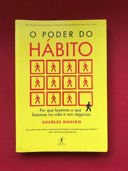 Livro - O Poder Do Hábito - Charles Duhigg - Seminovo