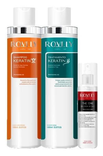 Kit Progressiva Tratamento Keratin + The One Bb Cream Rovely